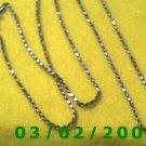 "30"" .925 Silver Italy Necklace (003)"