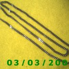 "24"" Silver Necklace no clasp (013)"