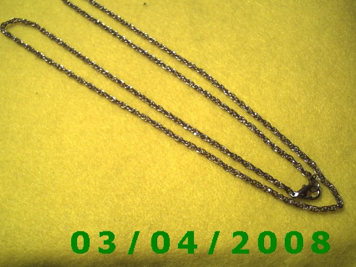 """30"""" Gold Necklace (036)"""