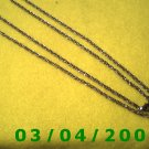 "30"" Gold Necklace (036)"