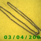 "24"" Silver Necklace (018)"