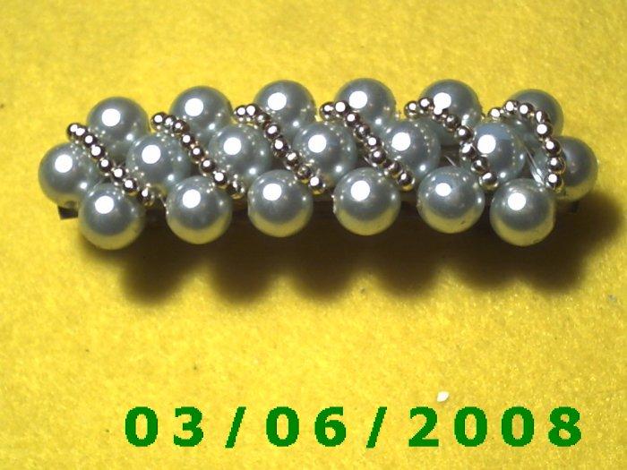 Bead Hair Barrette (009)