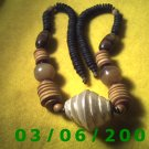 "25"" Bead Necklace w/screw connector (017)"