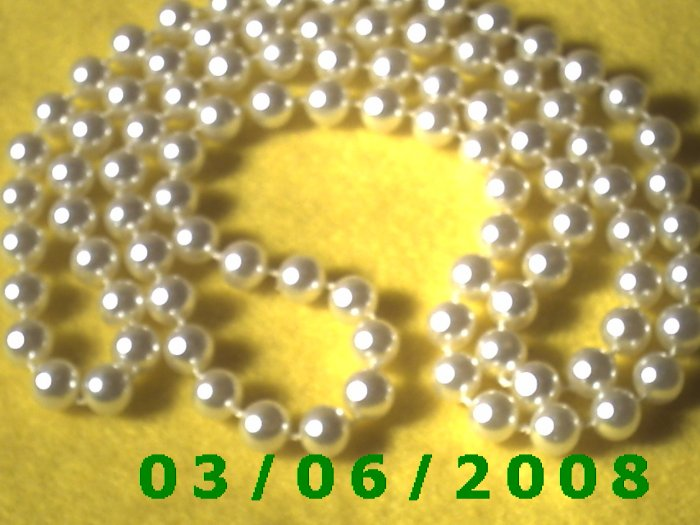 """35"""" Pearl Necklace (024)"""