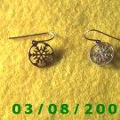 Silver Earrings Pierced (049)