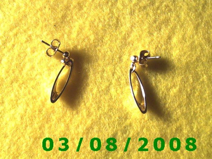 Gold Plated Pierced Earrings (011)