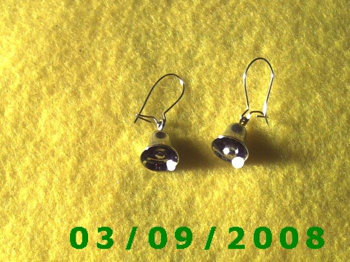 Silver Bells Pierced Earrings (001)