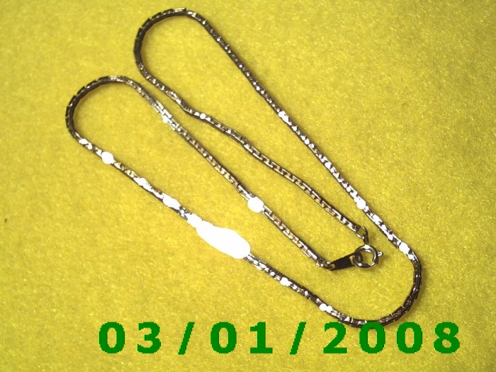 """15"""" Gold Plated 50's Necklace (002)"""