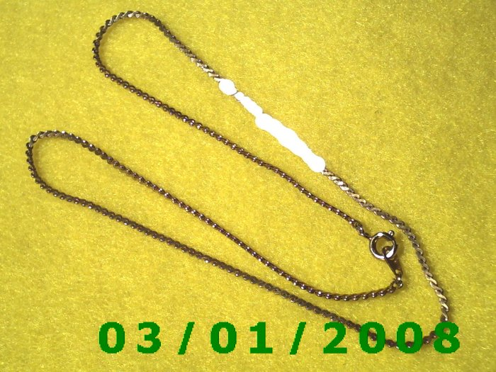 """16"""" Gold Plated 50's Necklace (003)"""
