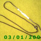 "16"" Gold Plated 50's Necklace (003)"