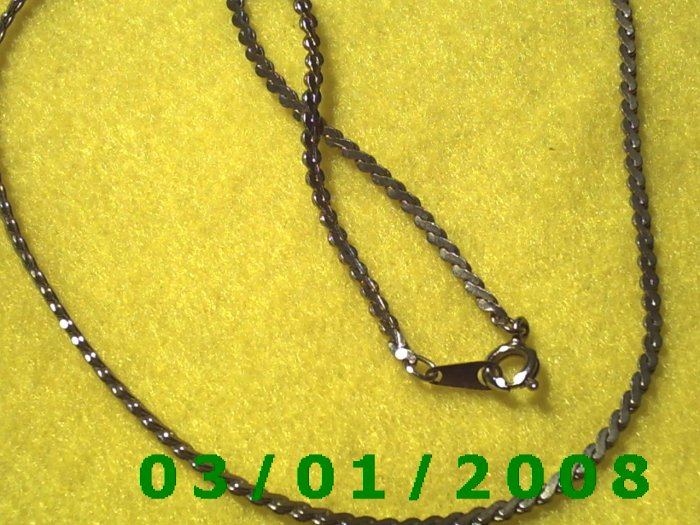 """Vintage 16"""" Gold Plated 50's Necklass (016)"""