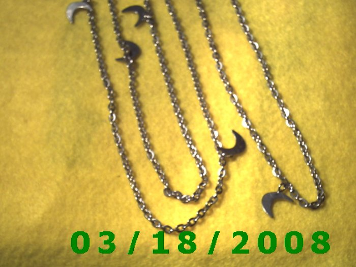 """54"""" 3mm Silver Necklace (008)"""