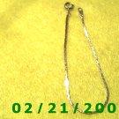 """Vintage  7"""" Gold Plated 50's Bracelet (003)"""