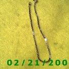 """Vintage 7 1/2"""" Gold Plated 50's Bracelet (005)"""