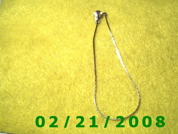 """Vintage 7"""" Gold Plated 50's Bracelet (006)"""