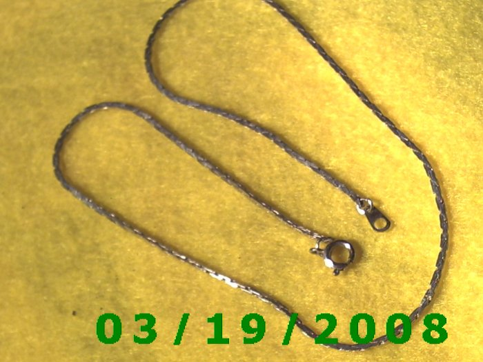 Silver Necklace  (E-3001)
