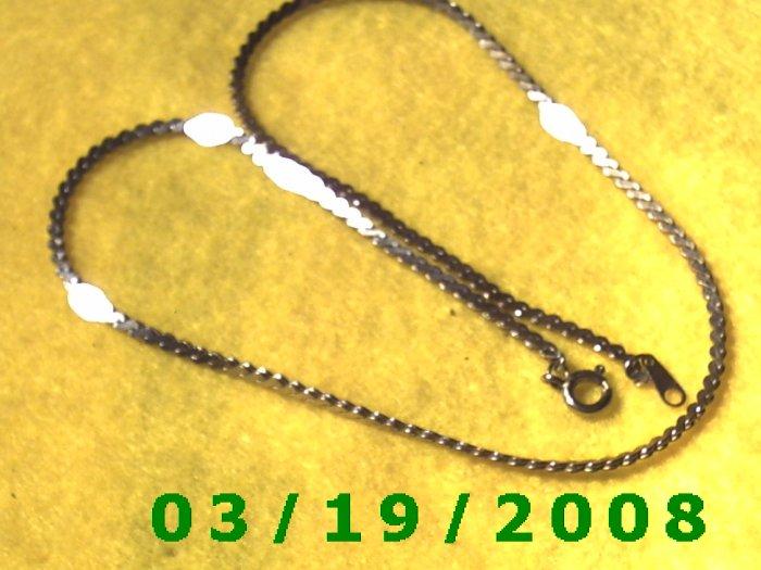 Silver Necklace  (E-3003)