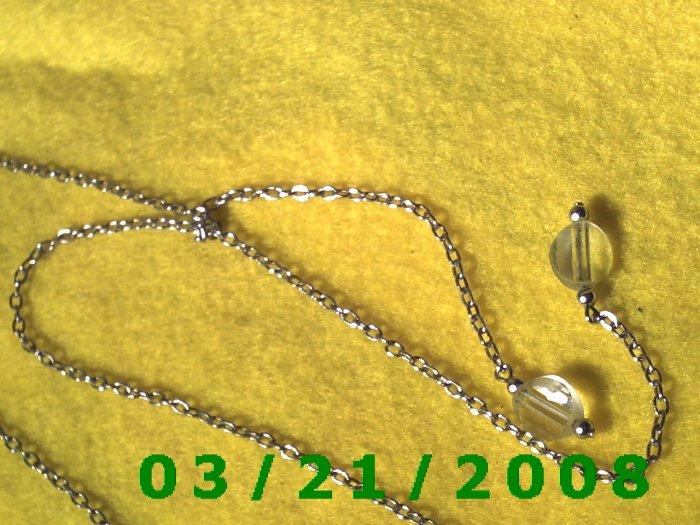 """26"""" 2mm Silver Necklace  (E-4024)"""