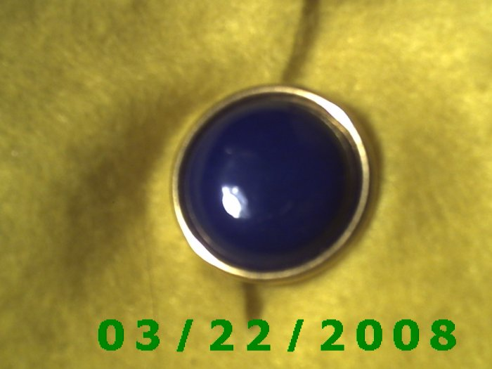 "15/16"" Button Cover Brass  (R002)"