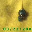 "1/2 x 1""Green Charm   (R011)"