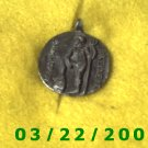 "15/16"" Silver Charm w/Greek Writing  (R042)"
