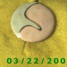 "1 3/16"" Gold Charm  (R048)"
