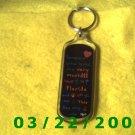 """1 1/4 x 4 3/8"""" Silver Key Ring  (R002)"""