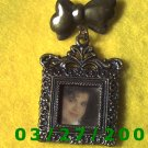 Bronze Square Picture Frame Pin  (005)