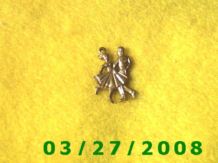 Brass Cowboy Square Dancers  (034)