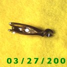 Gold Tie Clasp w/Channel Lock Pliers  (018)