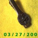 Gold Tie Clasp w/Golffer  (019)
