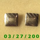 "Gold Cuff Links ""Anson""   (025)"