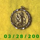 "St. Christopher ""Protect Us"" Medallion  (024)"