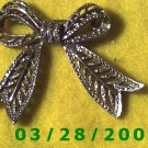 Filigree Bow Tie Pin   (032)