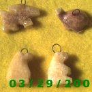 4ea Stone Charms   (008)