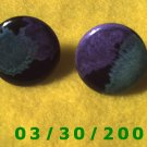 Multi colored Pierced Earrings  (015)