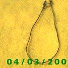wide Gold Bracelet   (001)