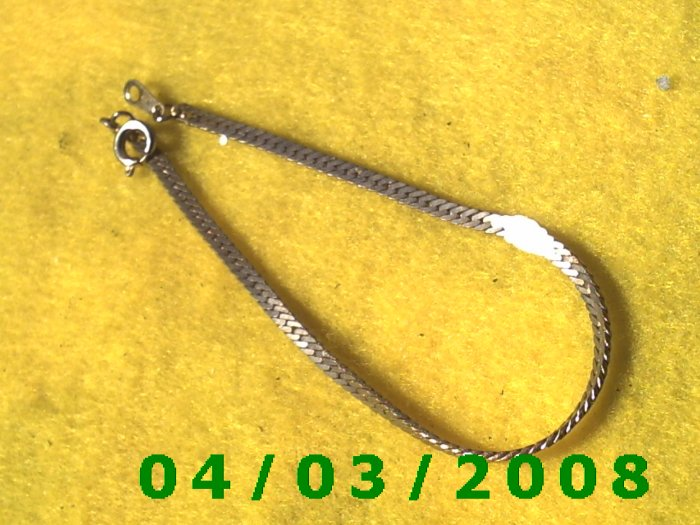 Silver Bracelet    013