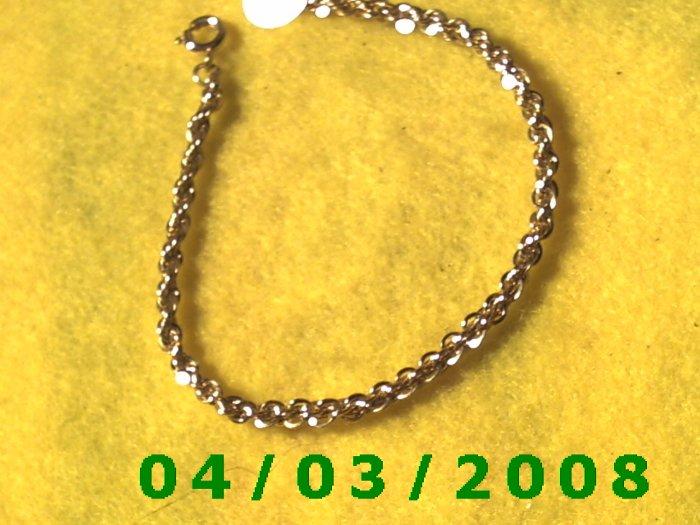 Gold Bracelet     014