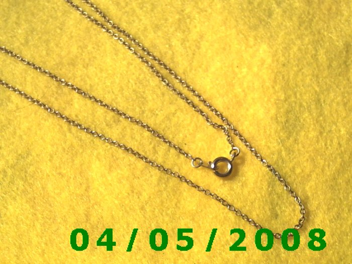Gold Necklace    E5008
