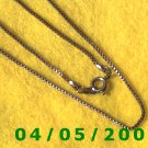 Silver Necklace    E5009
