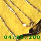 Gold Necklace w/Pendant     E5010