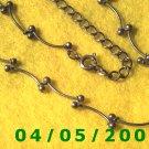 Silver Necklace     E5016