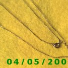 Gold Necklace    E5021