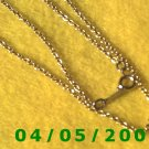 Gold Necklace    E5025