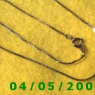 Silver Necklace    E5030