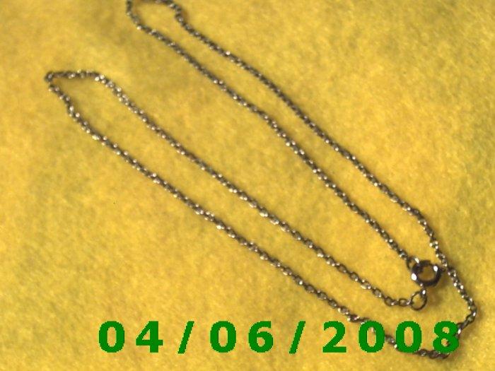 Silver Necklace    E5031