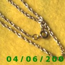 Silver Necklace      E5038