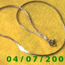 Silver Necklace     E5042
