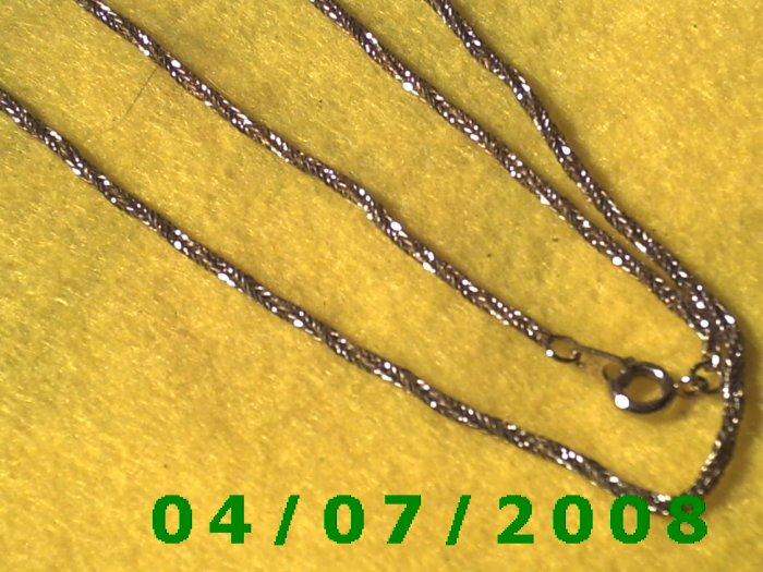 Gold Necklace     E5045
